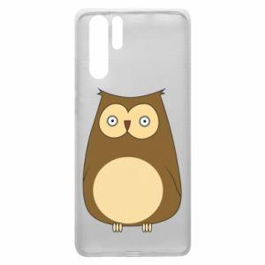 Etui na Huawei P30 Pro Owl with big eyes