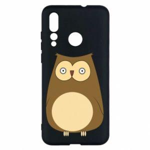 Etui na Huawei Nova 4 Owl with big eyes