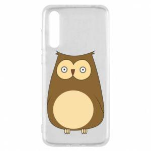 Etui na Huawei P20 Pro Owl with big eyes