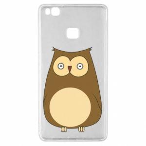 Etui na Huawei P9 Lite Owl with big eyes