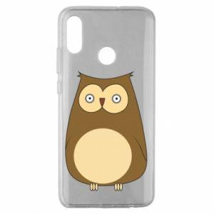 Etui na Huawei Honor 10 Lite Owl with big eyes