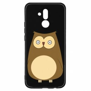 Etui na Huawei Mate 20 Lite Owl with big eyes