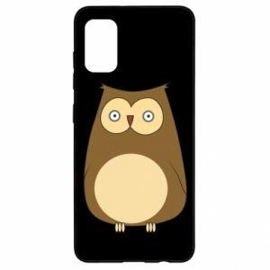 Etui na Samsung A41 Owl with big eyes