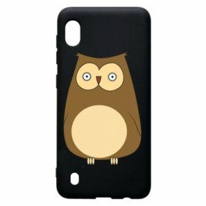 Etui na Samsung A10 Owl with big eyes