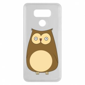 Etui na LG G6 Owl with big eyes