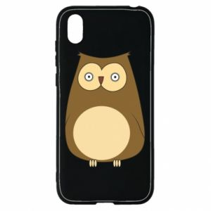 Etui na Huawei Y5 2019 Owl with big eyes