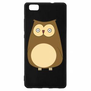 Etui na Huawei P 8 Lite Owl with big eyes