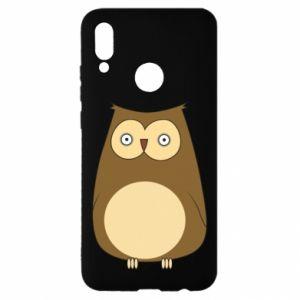 Etui na Huawei P Smart 2019 Owl with big eyes