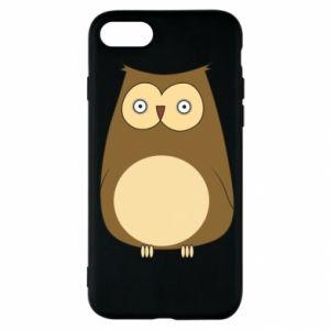 Etui na iPhone SE 2020 Owl with big eyes