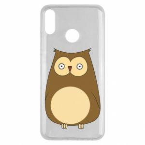 Etui na Huawei Y9 2019 Owl with big eyes