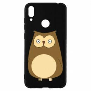 Etui na Huawei Y7 2019 Owl with big eyes