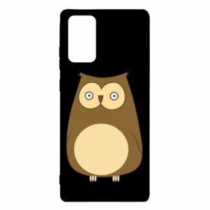 Etui na Samsung Note 20 Owl with big eyes
