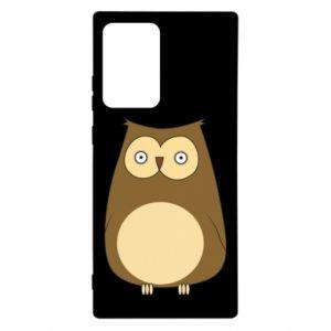 Etui na Samsung Note 20 Ultra Owl with big eyes