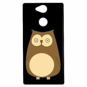 Etui na Sony Xperia XA2 Owl with big eyes