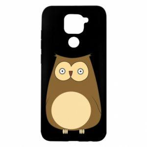 Etui na Xiaomi Redmi Note 9/Redmi 10X Owl with big eyes