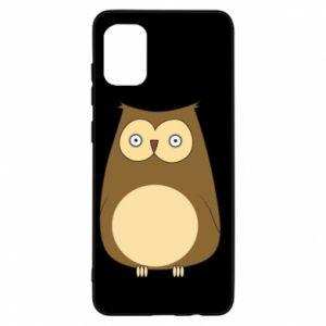 Etui na Samsung A31 Owl with big eyes
