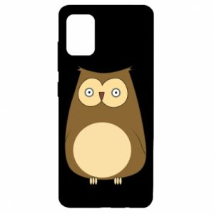 Etui na Samsung A51 Owl with big eyes