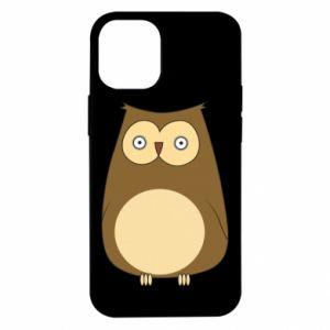 Etui na iPhone 12 Mini Owl with big eyes