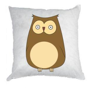 Poduszka Owl with big eyes