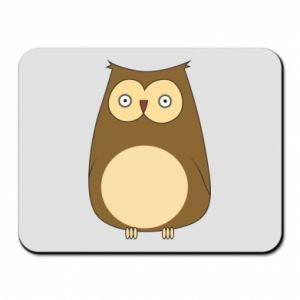 Podkładka pod mysz Owl with big eyes