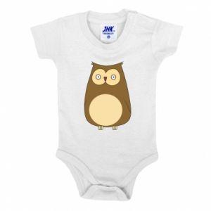 Body dziecięce Owl with big eyes