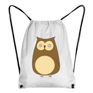 Plecak-worek Owl with big eyes