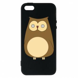 Etui na iPhone 5/5S/SE Owl with big eyes
