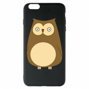 Etui na iPhone 6 Plus/6S Plus Owl with big eyes