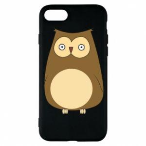 Etui na iPhone 7 Owl with big eyes