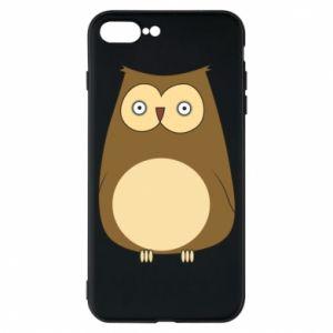 Etui do iPhone 7 Plus Owl with big eyes