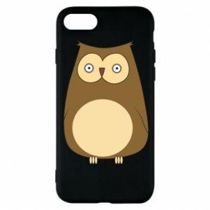 Etui na iPhone 8 Owl with big eyes