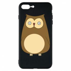 Etui na iPhone 8 Plus Owl with big eyes
