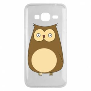 Etui na Samsung J3 2016 Owl with big eyes