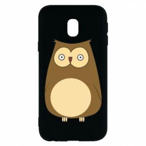 Etui na Samsung J3 2017 Owl with big eyes