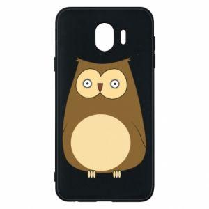 Etui na Samsung J4 Owl with big eyes
