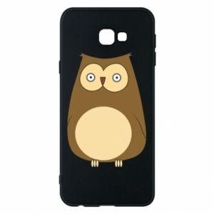 Etui na Samsung J4 Plus 2018 Owl with big eyes