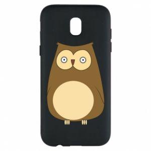 Etui na Samsung J5 2017 Owl with big eyes