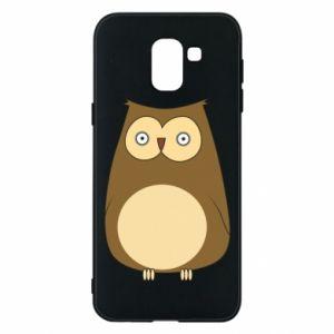 Etui na Samsung J6 Owl with big eyes