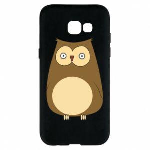 Etui na Samsung A5 2017 Owl with big eyes