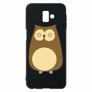 Etui na Samsung J6 Plus 2018 Owl with big eyes