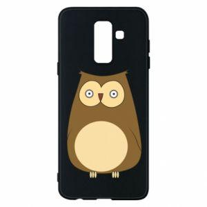 Etui na Samsung A6+ 2018 Owl with big eyes