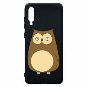 Etui na Samsung A70 Owl with big eyes