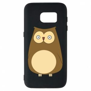 Etui na Samsung S7 Owl with big eyes