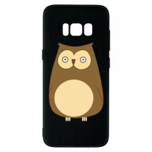 Etui na Samsung S8 Owl with big eyes
