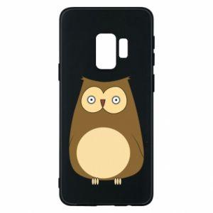 Etui na Samsung S9 Owl with big eyes