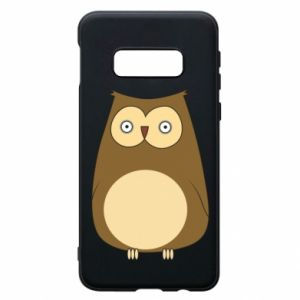 Etui na Samsung S10e Owl with big eyes