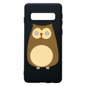 Etui na Samsung S10 Owl with big eyes