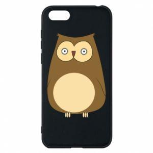 Etui na Huawei Y5 2018 Owl with big eyes