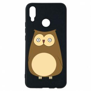 Etui na Huawei P Smart Plus Owl with big eyes