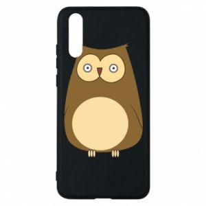 Etui na Huawei P20 Owl with big eyes